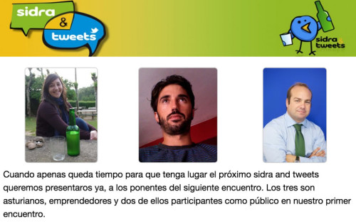 Sidra and Tweets de Emprendedores